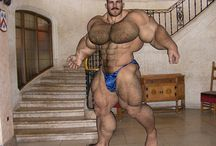 [Colton-Furry] Bodybuilder Hairy Muscle Bear / Bodybeef model 'Colton' - Visit http://www.bodybeef.com/studios/colton---premium-sets for Colton's nude photo sets!