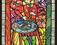 Tarot - IL Tarocco delle Vetrate / Stained-Glass Windows Tarot