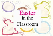 Easter Classroom / Easter in the Classroom curated for elementary teachers by www.treetopsecret.com.  Please visit my blog for more ideas to help you and your students, Veronica at TreeTop. / by Tree Top Secret Education