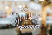 cafe visual merchendising / cafe visual & branding ideas / by merci m design