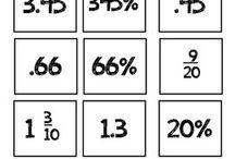 SOL 6.2 Fractions, Decimals, & Percents / Virginia Sixth Grade Math SOL  / by April Hawkins