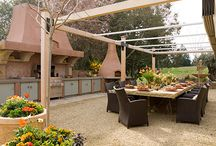 Outdoor living! / Ideas for our backyard that is a blank canvas! Need ideas.....help!! / by Rosie Altamirano-Habing