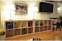 Living Room - Toy Storage / by Kelley Cates