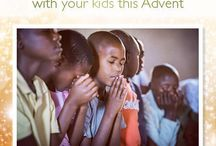 Advent Prayers for the World / December 1-25, I'll be pinning daily prayers for you from @WorldVision to pray for the world with your children. Let's cover the world in prayer this Advent! Join us, and share! #prayer #advent #praytogether / by Diana Stone