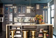 Celebrity Kitchens / Check out where your favorite celebrities cook, eat, and entertain.