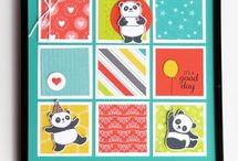 party panda's stampin up