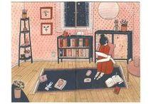 Illustration: girls