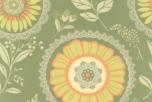 Wallpaper and pattern