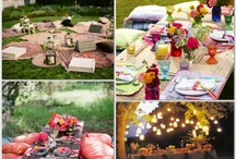 Picnic Wedding Ideas / My Ideas for a fabulous and frugal do it yourself Picnic Wedding and Reception! Many of these ideas were used for my wedding. / by Angela Goree