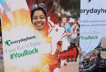 Rock 'n' Roll Philadelphia Half Marathon / We went to Philadelphia to meet the amazing Rock 'n' Roll Philadelphia Half Marathon participants. We had a great time meeting all the runners! #RnRPhilly #YouRock #RunNRaise