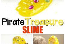 Pirates/treasure island