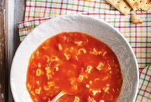 soupes...