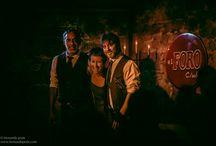Mercadante Rehder Battaglia Trío / Trío de tango formado por los argentinos:  Marcelo Mercadante (bandoneón), Sandra Rehder (voz) y Gustavo Battaglia (guitarra)