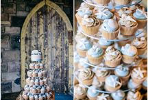 Wedding Cupcakes / Various wedding cupcakes to help inspire you for your big day.  #weddingcake #cake #cupcake #cupcakes #wedding #bigday #bride #groom