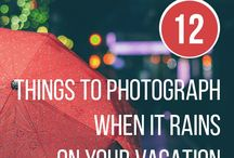 12 THING TO PHOTOGRAPH WHEN IT RAINS
