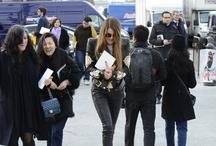 Fashion Week A/W 2012 Fashion Editors @ Work Street Style Swag / Fashion Week A/W 2012 Fashion Editors @ Work Street Style Swag