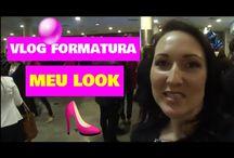 Vlog formatura da minha amiga - meu look!