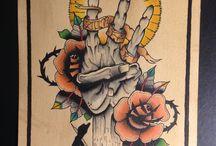 Tattoos / Tättowierungen aller art und Stilrichtungen