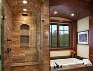 bathroom inspiration / by Amanda Andrews