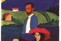 Der Blaue Reiter ~ Gabriele Münter