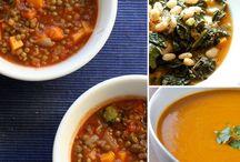 Food - Soups / by Rachel Clark