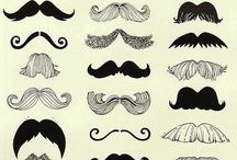 Mo's / Moustaches everywhere!