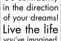 He said, She said; inspirational quotes