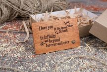 Wood wallet personalized insert card / Any engraving personalized insert card made of real wood. Best gift for him and her. Best boyfriend gift. Own production, limitless possibilities. #walletcard