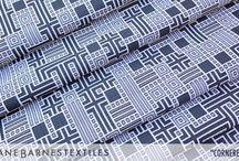 Jhane Barnes Fabric Designs for Anzea Textiles / Interior Fabrics