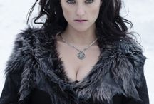 C: Morgana / Morgan le Fay of Authurian Legend, one of three elder half sisters of King Arthur, a powerful sorceress of the old religion, and Arthur's main antagonist.