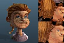 3D - CHARACTER - texturing