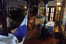 Noche romántica. Balcón, hamaca. / Cena de Raclette, una vista hermosa, velas, flores y un descanso en la hamaca. MonteMadero Casa Hotel, Cota, Cundinamarca.