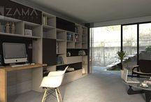 Nábytok na mieru do pracovne a kancelárie / Workspace custom furniture / Nábytky vyrobené a mieru pre domáce pracovne a kancelárske priestory od kreatívnych open space pracovných priestorov až po luxusné kancelárie vedúcich pracovníkov.
