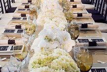Wedding Receptions | Table Setting/Numbers
