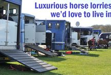 Horse Trailers / New & used gooseneck, bumper pulls, and living quarter horse trailers.