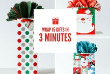 GoGo Gift Bag / Meet the new superstar of gift wrapping, the GoGo™ Gift Bag! The season's hottest invention allows you to wrap gifts for everyone on your list in minutes.