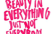 Beauty: Words to Live By / by Imaginal Marketing Group