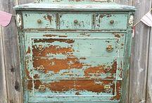 Vintage + venkovsky nábytek