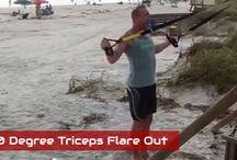 TRX Arm Exercises / The best TRX suspension workouts for your arms. #TRX_Arm_Exercises