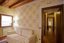 "Decorazione "" Geometrie"" / decorazione d'interni"
