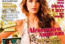 Alessandra Ambrosio: HOLA Fashion #21 2014