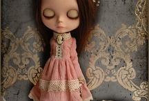 my fantasy custom blythe doll