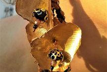 Les Boucles Lumineuses / Créations pièces uniques de boucles d'oreilles sur mesure