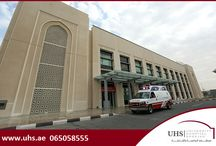 24/7 Emergency Department at University Hospital Sharjah (UHS) / The 24/7 Emergency Section at University Hospital Sharjah (UHS) is run by a highly qualified and experienced team of emergency physicians and nurses who are specially trained and prepared to deal with different kinds of critical cases, 24 hours a day. Fully equipped state of the art in house ambulance is also available.