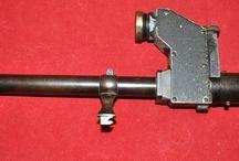 German C.Zeiss/Jena Model GZ prizm sniper rifle scope w/claw mounts 1900-1905