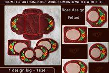 Coaster - placemats - mug rug