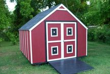 Unique Sheds / We have a collection of storage sheds that are truly unique based on color, size and shape. These sheds need to be seen to be believed.