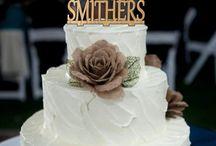 Wedding Cake Topper / cake topper