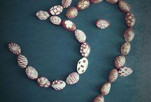 Pistachio shell art