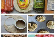 Picnic ideas / Easily transportable food
